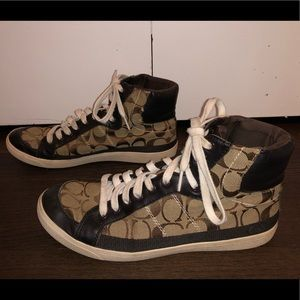 Ellis Coach High Top Sneakers (9.5)